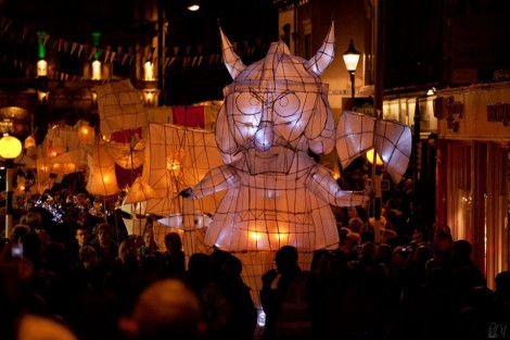 The Market Town of Ulverston's Annual Lantern Parade