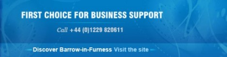 Furness Enterprise is based in Barrow in Furness, we help pre start and post start businesses with grant funding, business advice, training and events.