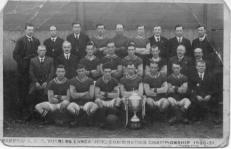 Barrow A.F.C. Winners Lancashire Combination Championship 1920-21