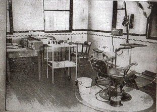 'The Torture Chamber' ie -School Dentists!