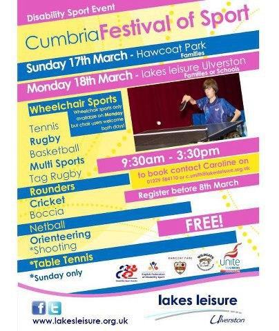 Cumbria Festival of Sport
