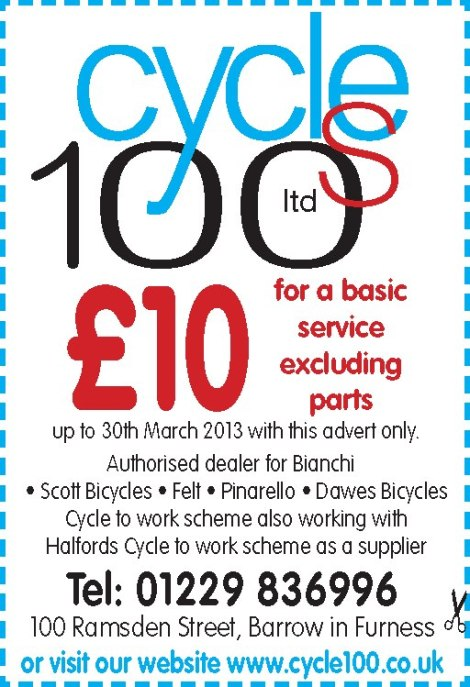Cycles 100, we have a vast range of bikes in stock and we also stock a large range of parts. feel free to call in and have a look around.  all of our bikes come fully serviced to the highest possible standards, We are stockists of Bianchi, Peugeot, Schwalbe and many more. - See more at: http://www.cycle100.co.uk/#sthash.HTPzCYfB.dpuf